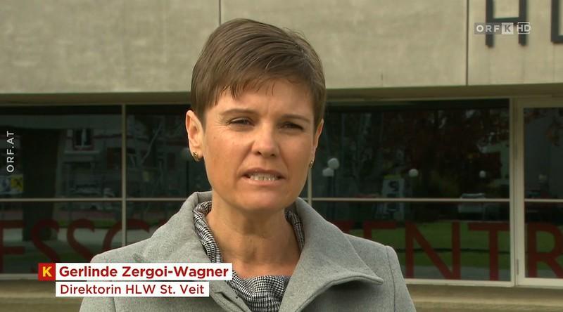 Mag. Gerlinde Zergoi im ORF-Bericht