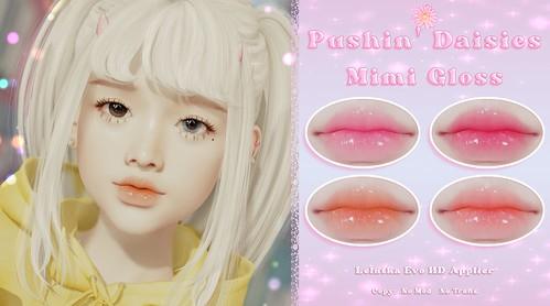 Pushin' Daisies - Mimi Gloss - GIFT