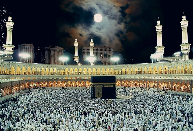 5816 Moon to set directly above the Holy Kaaba on Nov 8 02.