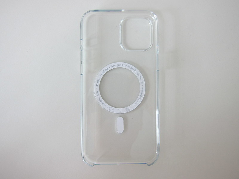 Apple iPhone 12 Pro Max Clear Case with MagSafe - Back