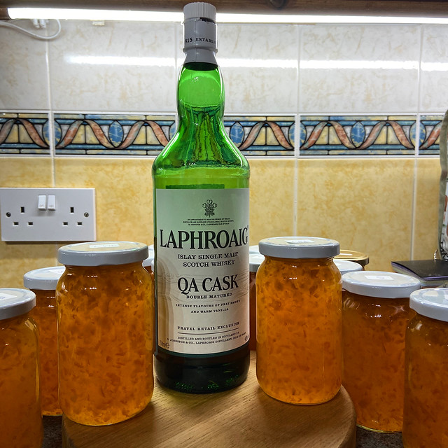 Our best Homemade Whisky Marmalade, Hillview, UK.