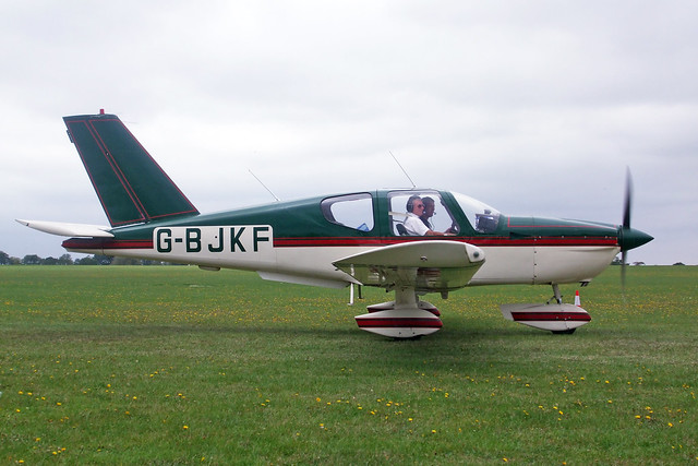 G-BJKF  -  SOCATA TB-9 Tampico c/n 240  -  EGBK 3/9/11