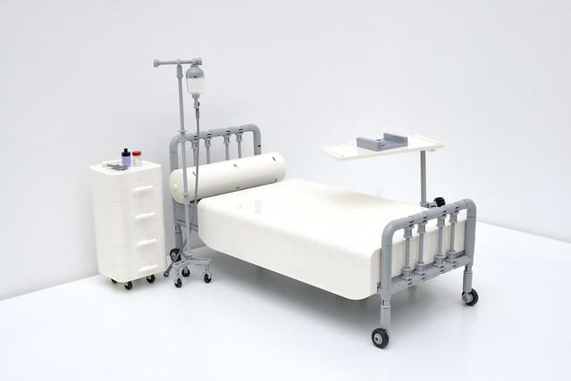 Lego hospital bed - atana studio