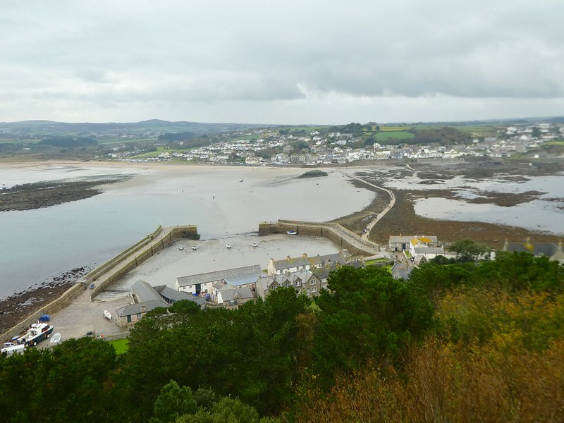 View from the top of St. Michael's Mount