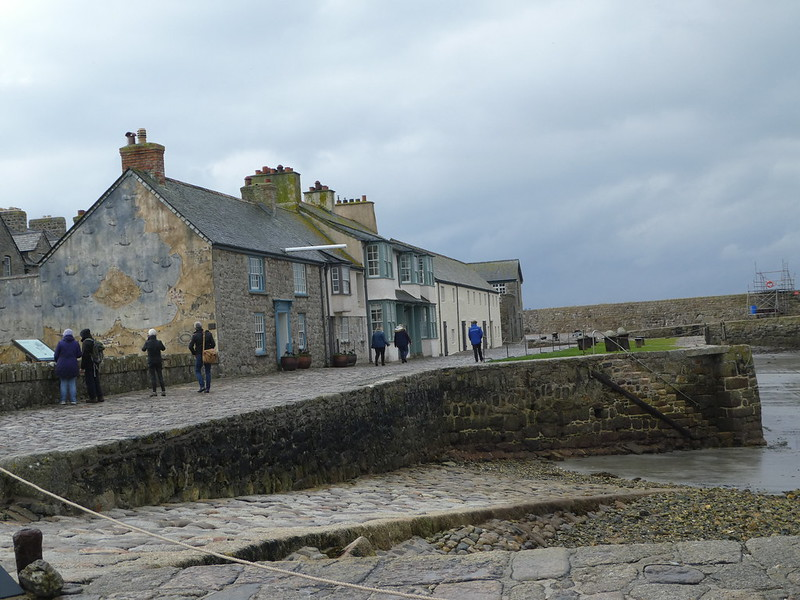 The tiny village on St. Michael's Mount