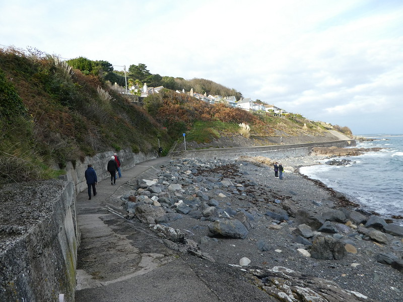 The South West Coast Path in Mousehole