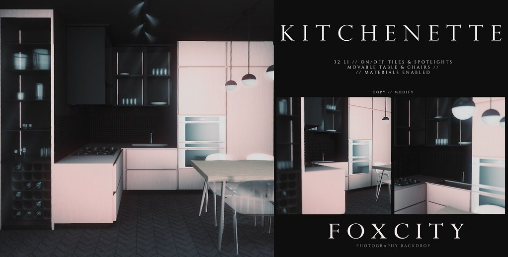FOXCITY. Photo Booth – Kitchenette