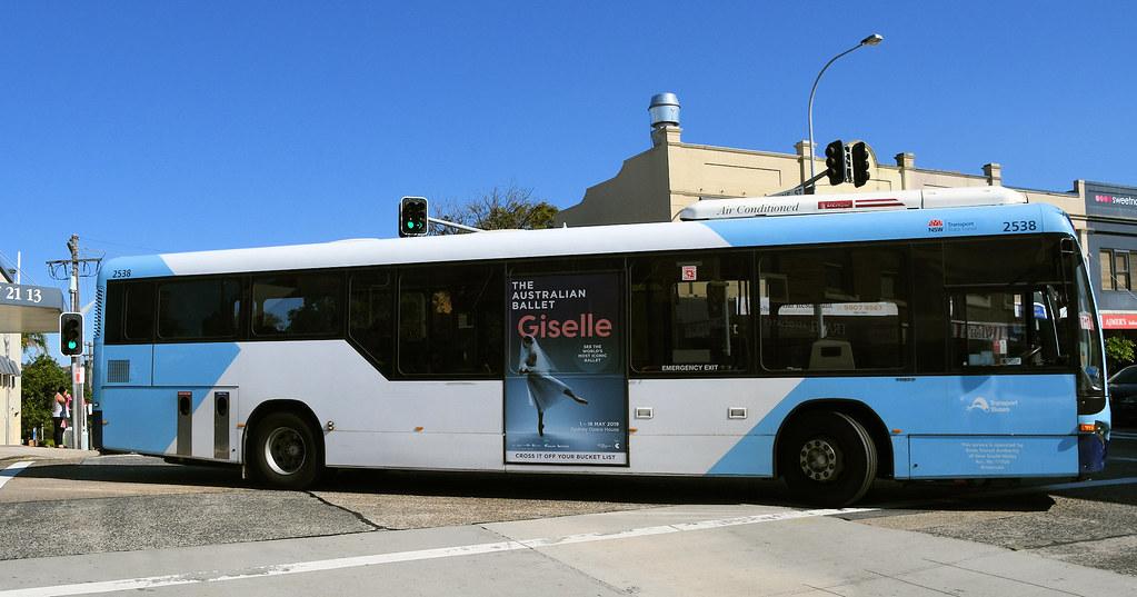 Bus 2538, Balgowlah, Sydney, NSW.