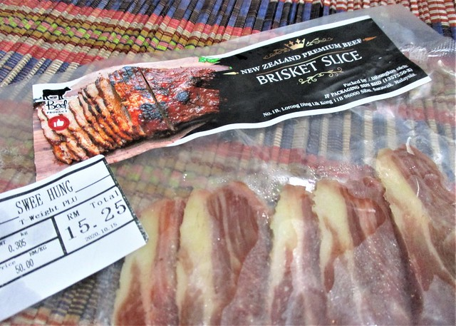 New Zealand premuim beef brisket slices