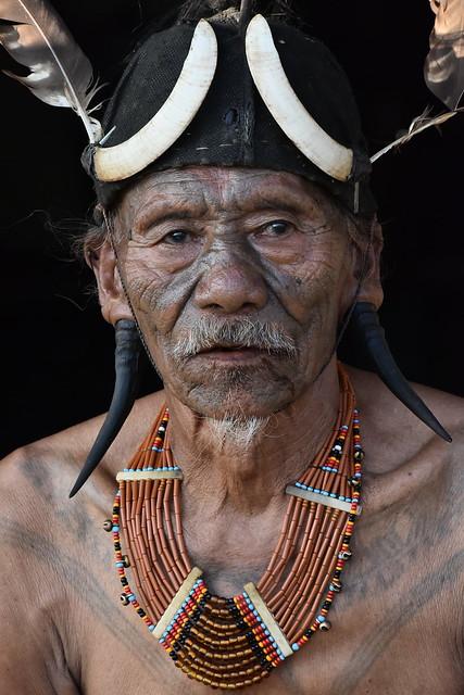 Nagaland.....old man Naga
