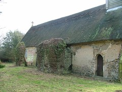 remains of the old church