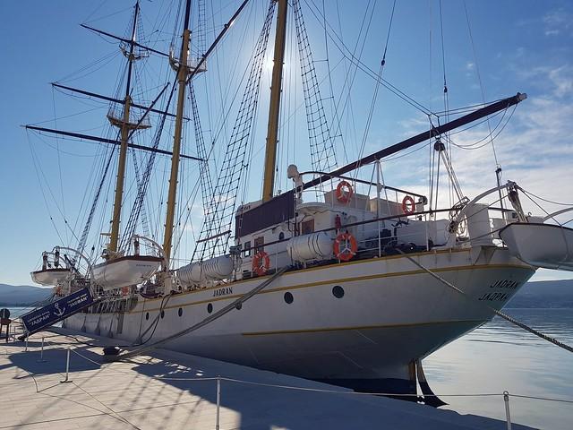 navy sailing ship Jadran