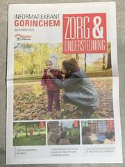 Informatiekrant Gorinchem, Zorg & Ondersteuning (november 2020)