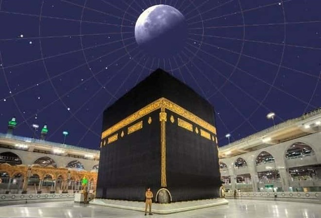 5816 Moon to set directly above the Holy Kaaba on Nov 8.