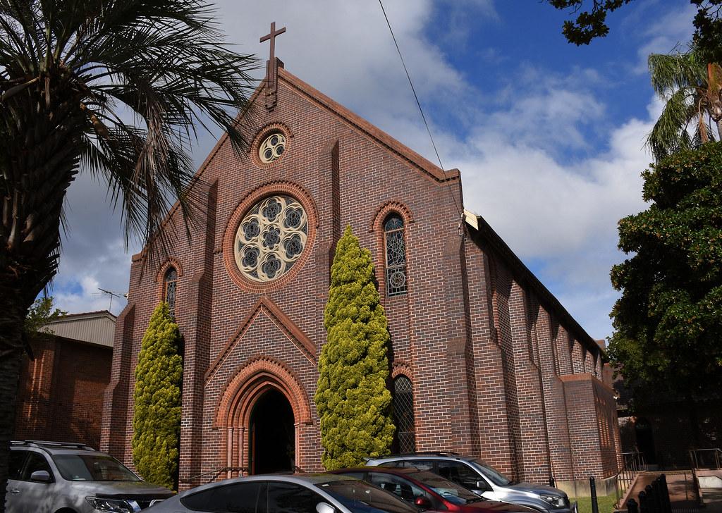 St Mark's Catholic Church, Drummoyne, Sydney, NSW.
