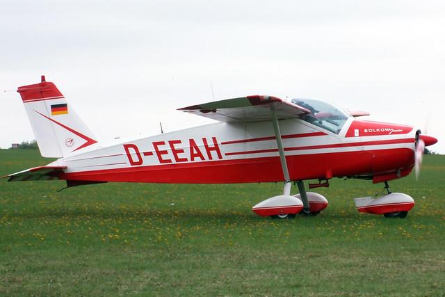 D-EEAH  -  Bolkow Bo-208 Junior c/n 658  -  EGBK 3/9/11