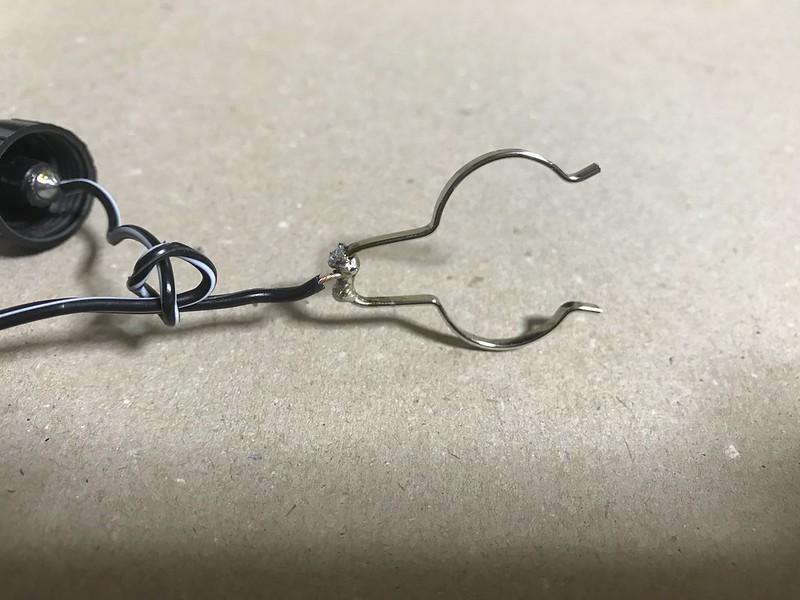 シガーソケット電源ケーブルの補修