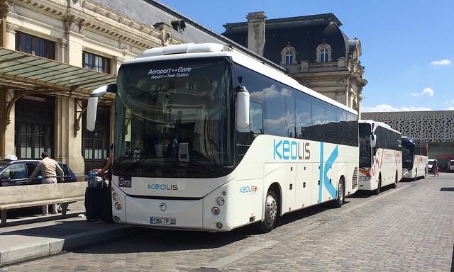 Irisbus Evadys HD n°078030 sur la navette 30'Direct