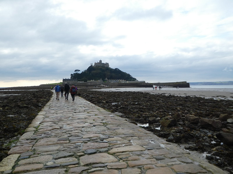 The causeway, St. Michael's Mount