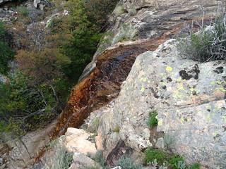 Piscia Cava : la cascade