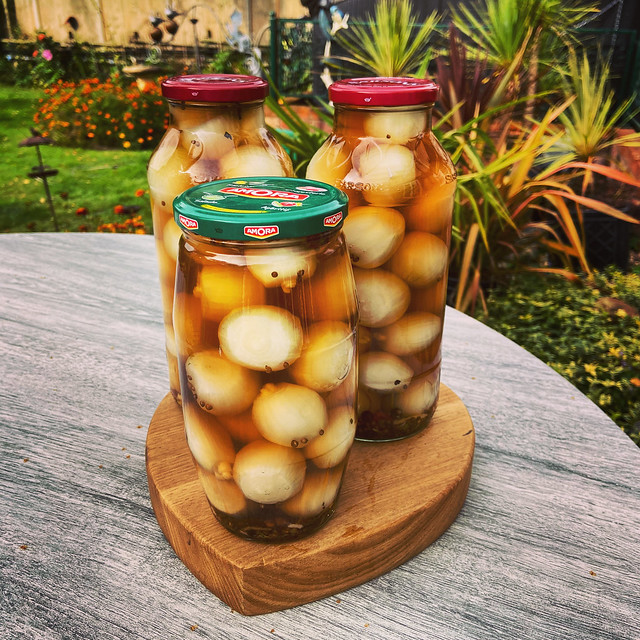Home Pickled Onions, Hillview, UK.