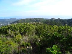 Le pianu d'Orovu depuis le promontoire d'accès