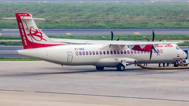 Alliance Air (Air India Regional) Aerospatiale ATR72 VT-RKE New Delhi (DEL/VIDP)