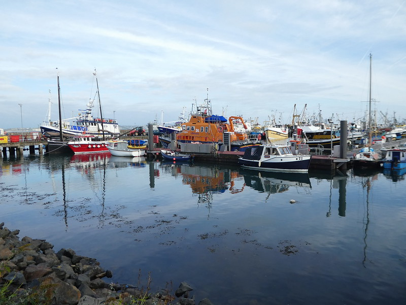 Fishing harbour, Newlyn, Cornwall