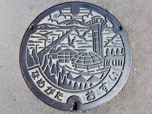 Namegata Ibaraki, manhole cover (茨城県行方市のマンホール)