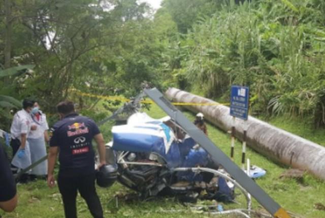 Sharifah Shahira Terkejut Helikopter Terhempas Dekat Rumah