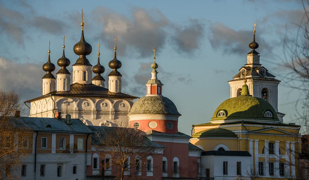 Belopesotsky Convent (Moscow Oblast, Russia) / Белопесоцкий монастырь