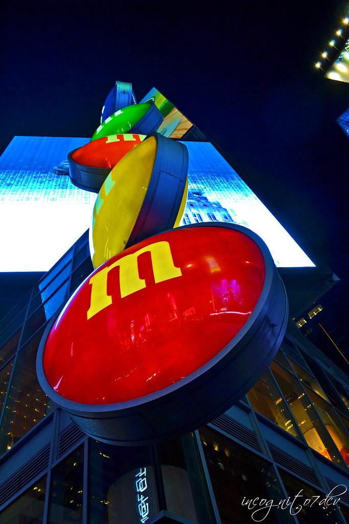 M&M's World Times Square at Night Midtown Manhattan New York City NY P00705 DSC_1799