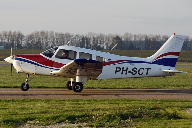 PH-SCT Piper PA.28-161 @ Lelystad 06-Nov-2020 by Johan Hetebrij