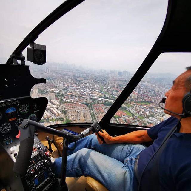 Helikopter Terhempas