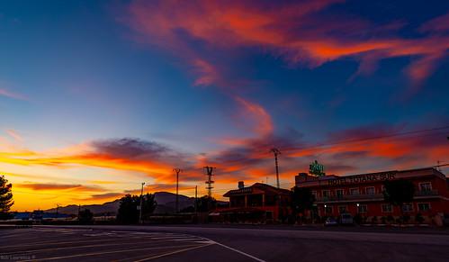 totana goldenhour sunset spain hoteltotanasur ruta340 restauranteruta340