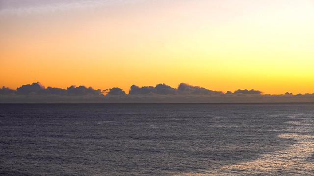 New-Zealand sunset
