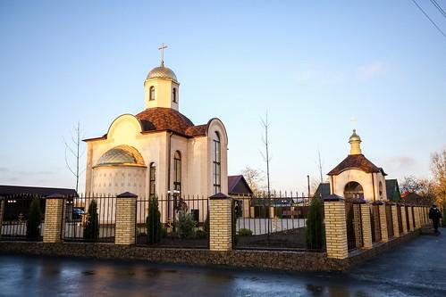 08 ноября 2020, Митрополит Кирилл совершил великое освящение храма великомученика Димитрия Солунского с. Солуно-Дмитриевское