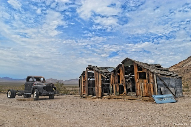 The End of Dreams, Ghost Town, Rhyolite in Nevada