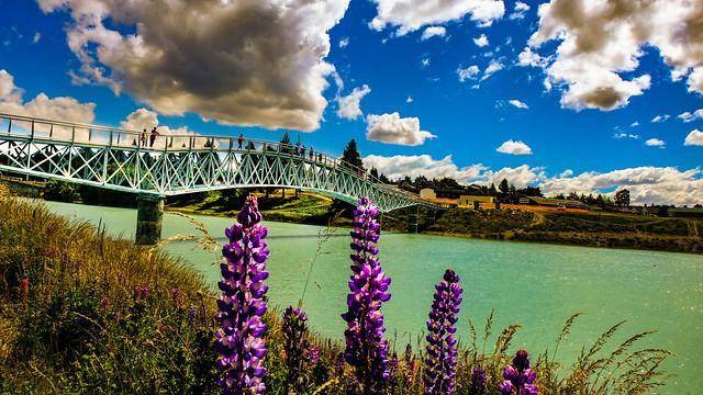 Tekapo bridge