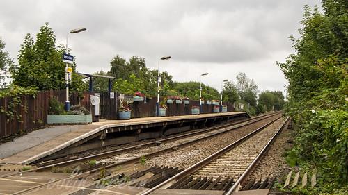 Bescar Lane Station Manchester Platform 2