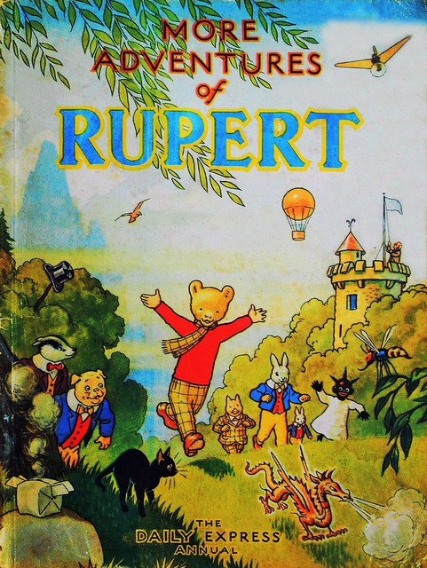 Rupert Bear was 100 Years old on 8th January 2020