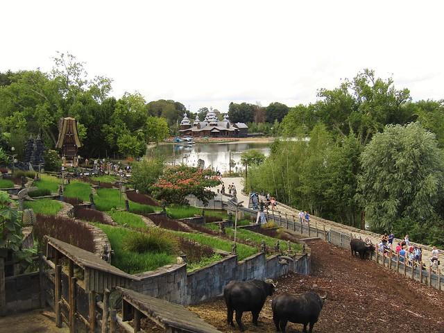 Pairi Daiza, most beautiful zoo in Europe