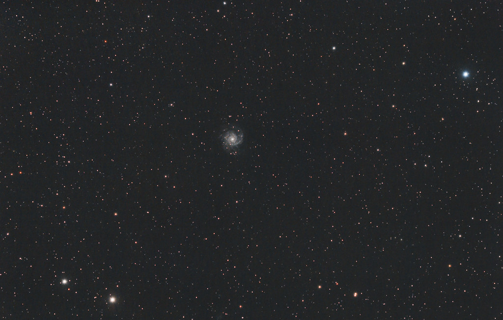 M74,Une Galaxie Spirale dans la constellation des Poissons