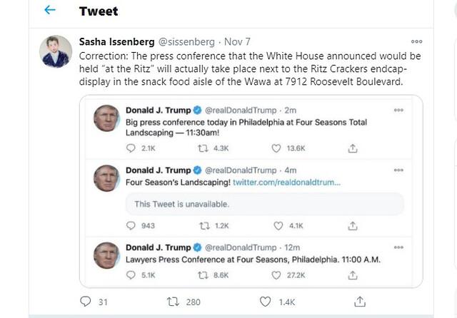 Trump at the Ritz