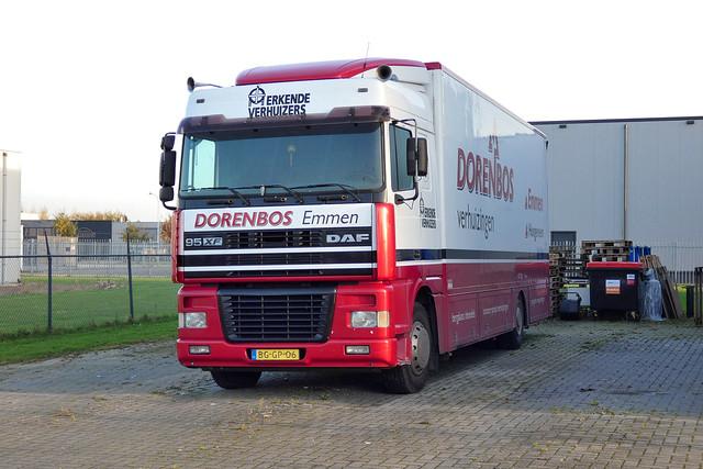 DAF 95XF Dorenbos Emmen