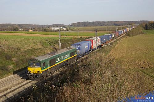 V 266 . RTB Cargo . Z 40678 . Berneau . 07.11.20.