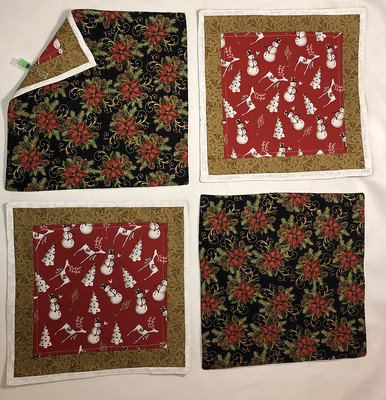 Set of 4 - Christmas