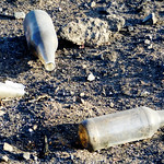 Burnt bottles