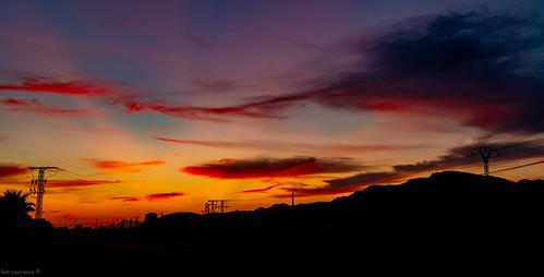 goldenhour sunset spain