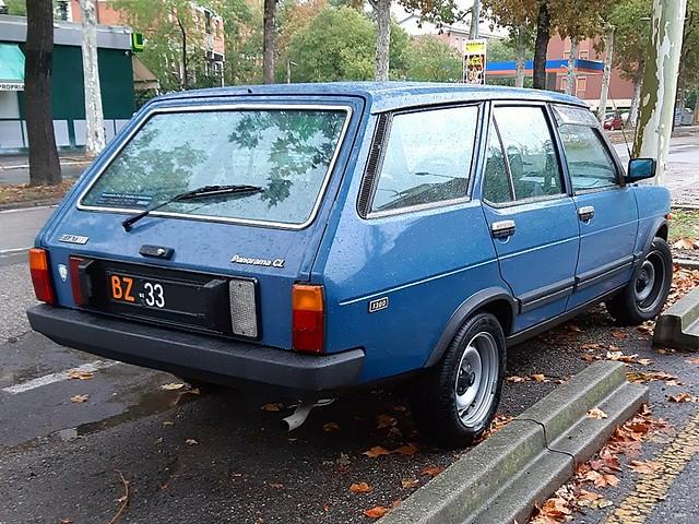 Fiat 131 Panorama 1.3 CL - 1982
